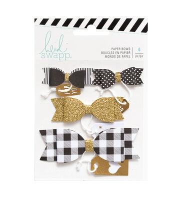 Heidi Swapp Stationery Tag Kit-Bows