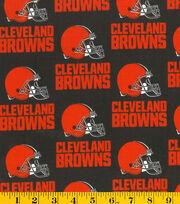 Cleveland Browns Cotton Fabric -Helmet Logo, , hi-res