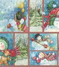 Susan Winget Print Fabric 59\u0027\u0027-Winter Whimsey