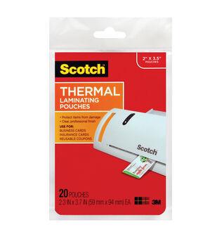 Scotch Termal Pouches Business Card 20 Pk