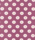 Buttercream Elizabeth Collection Cotton Fabric-Pink Frame
