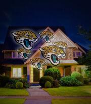 Jacksonville Jaguars Team Pride Light Projector, , hi-res