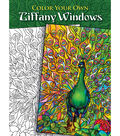 Adult Coloring Book-Dover Publications Color Your Own Tiffany Window