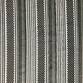 Lace Knit Fabric-Black Stripes