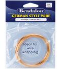 Beadalon Round Wire 26 Gauge 65.5 Feet/Pkg-Gold