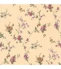 Heidi Purple Floral Trail Wallpaper