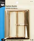 Dritz Fashion Buckle Gold  2 3/4\u0022