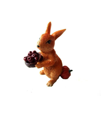 Simply Autumn Littles Bunny with Apples