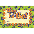 North Star Teacher Resource Way to Go! Punch Cards, 36 Per Pack, 6 Packs