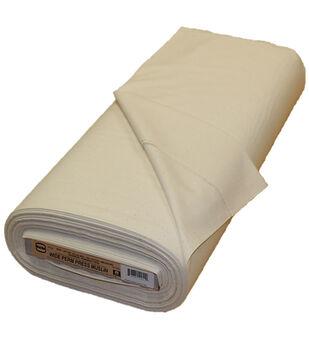 Roc-lon Wide Permanent Press Unbleached Cotton Muslin 107''-108''x15 yds