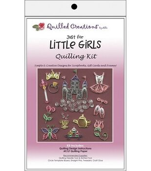 Quilled Creations Quilling Kits-Just For Little Girls