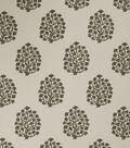 Jaclyn Smith Upholstery Fabric 54\u0022-Amy/Dove Gray