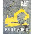 Fleece Blanket 48x60\u0022-Cat Built For It by Riley Blake