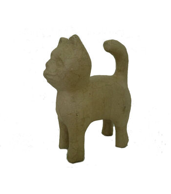 Buttercream Collection Paper Mache-Cat