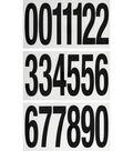 Jolee\u0027s Boutique 19 pk 5\u0027\u0027 Numbers Iron-on Transfers-Black