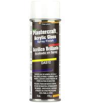 DecoArt Plastercraft 6 oz. Acrylic Gloss Spray Finish, , hi-res