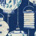 Home Decor 8\u0022x8\u0022 Fabric Swatch-Waverly Illuminata Lapis