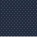 Quilter\u0027s Showcase Cotton Fabric 44\u0022-Navy Dot