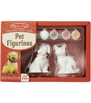 Melissa & Doug Decorate-Your-Own Pet Figurines Craft Kit, , hi-res