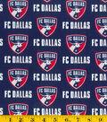 FC Dallas Cotton Fabric 58\u0022-Logo
