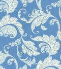 Home Essentials Lightweight Decor Fabric 45\u0022-Swavelle Millcreek Prestwick Panorama Cerulean