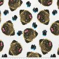 Super Snuggle Flannel Fabric-Pug Faces Tossed