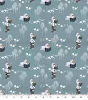 Disney Frozen 2 Cotton Fabric-Olaf Snows It All, , hi-res