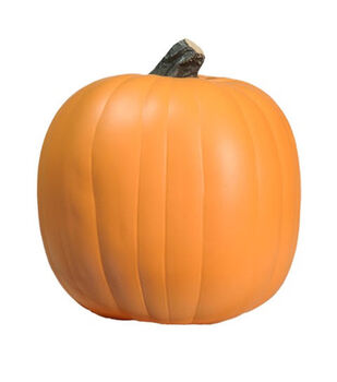 Fun-Kins Halloween 9'' Carvable Pumpkin-Orange
