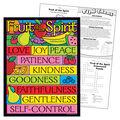 Fruit of the Spirit Learning Chart 17\u0022x22\u0022 6pk