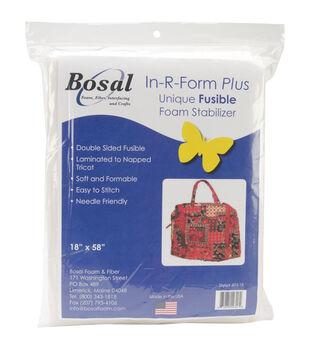 Bosal In-R-Form Plus Unique Fusible Foam Stabilizer 18''x58''
