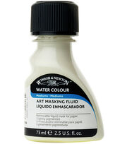 Winsor & Newton Water Colour 2.5 fl. oz. Art Masking Fluid-Yellow, , hi-res