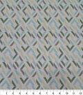 Quilter\u0027s Showcase Cotton Fabric-Broken Squares Green