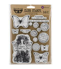 Finnabair Cling Stamps 6\u0022X7.5\u0022-Don\u0027t Forget To Fly