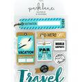 Park Lane Paperie 8 pk Stickers-Vintage Travel