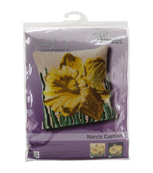 """Narcis Cushion Tapestry Kit-15.75""""X15.75"""" 18 Count"""