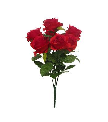 Fresh Picked Spring 18.75'' Rose Bush-Red