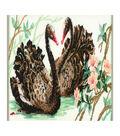 RIOLIS Counted Cross Stitch Kit 12.75\u0022X9.45\u0022-Black Swan (15 Count)