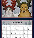 2019 Wall Calendar American Cat