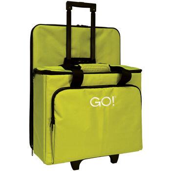 "GO! Fabric Cutter Tote & Die Bag-20""X7""X16"" Green"