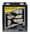 Woodland Scenics 13ct Ready Rocks Outcroppings