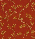 Home Decor 8\u0022x8\u0022 Fabric Swatch-Waverly Indochine Emb Henna