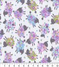 Snuggle Flannel Fabric -Lilac