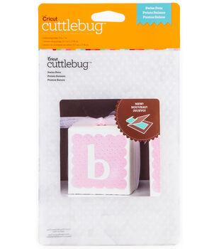 Cuttlebug Emboss 5x7 Swiss Dots