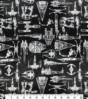 Star Wars Knit Fabric-Galaxy