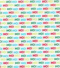 Christmas Cotton Fabric 43\u0022-Ho! Ho! Ho!