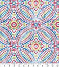 Kelly Ripa Home Multi-Purpose Fabric 9\u0022x9\u0022 Swatch-Blissfulness Confetti