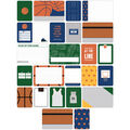 Project Life Themed Cards 40/Pkg-Basketball