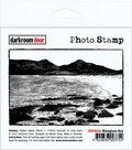 Darkroom Door Cling Stamp 4.5\u0022X3\u0022-Wineglass Bay