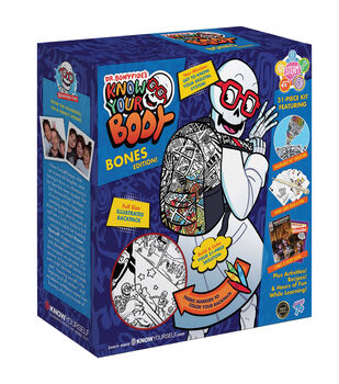 Know Yourself Dr. Bonyfide's Know Your Body, Bones Edition! Activity Kit