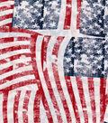 Patriotic Fabric-Distressed Flags